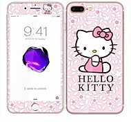 creen Protector For iPhone 6s iPhone 6 Tempered Glass Explosion Proof Kitty Flower 3D Curved Edge Front & Back Protector Full Body Screen Protector