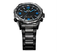 WEIDE® Men Analog Digital Sport Watch Stainless Steel Stopwatch/Alarm Backlight/Waterproof Wrist Watch Cool Watch Unique Watch Fashion Watch