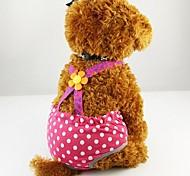 Недорогие -Собака Брюки Одежда для собак На каждый день В горошек Костюм Для домашних животных