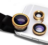 Donews le lenti della macchina fotografica di smartphone 0.45x obiettivo grandangolare 12.5x lente di macro obiettivo focale di 12x lunga