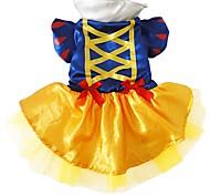Недорогие -Собака Костюмы Одежда для собак Косплей Принцесса Синий Костюм Для домашних животных