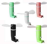 RuishengdaOTG Micro USB Mobile Phone fan Portable Dock Cool Cooler Rotating Fan for Android
