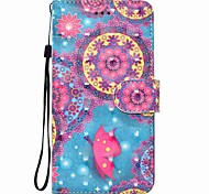 cheap -Case For Huawei P8 LITE P9 LITE Butterfly Pattern 3D PU Wallet Leather Card Holder with Hand Strap for Huawei P10 P10 LITE Y5 II P8 LITE 2017