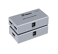 DTech HDMI 1.4 Switch/Extender HDMI 1.4 to HDMI 1.4 RJ45 Switch Female - Female 1080P Extend Distance up to 35M