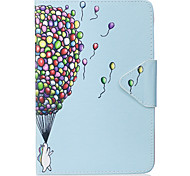 Case For Ipad Mini 1 2 3 Mini 4 Case Cover Balloon Pattern PU Material Triple Tablet PC Case Phone Case