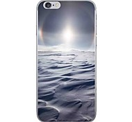Случай для яблока iphone 7 7 плюс крышка случая пустая картина hd покрасила более толстый материал tpu мягкий случай случая телефона для