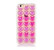 Недорогие -Случай для iphone 7 7 плюс крышка случая любовный образец tpu материал dijiao случай телефона для iphone 6s 6 6 плюс 6s плюс