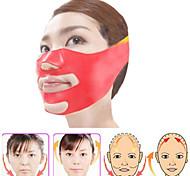 Masque facial en silicone 3D v-line lift visage bandage ceinture minceur facial double menton peau levage mince massager soins de santé