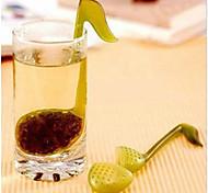 2pcs nota colher chá de musica colher de chá de chá / notas fazer chá parceiro de alta qualidade