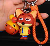 Bag / Phone / Keychain Charm Cartoon Toy Phone Strap PVC DIY for iPhone 8 7 Samsung Galaxy s8 s7