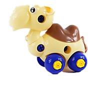Bausteine 3D - Puzzle Bildungsspielsachen Spielzeuge Rechteckig Streitwagen Stücke Unisex Geschenk