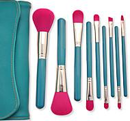 Fashion Style 9PCS Classic Cosmetic Brush Set Cosmetic Brush PU High Quality