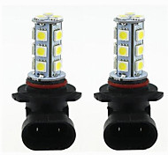 cheap -2pcs DC12V White 9005 9006 H8 H11 5050SMD 18LED Car LED Bulb Turn Signal Light Brake Light