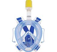 Diving Masks Anti-Fog Waterproof Dry Top Full Face Masks 180 Degree View Diving / Snorkeling WINMAX