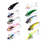 cheap -1 pcs Hard Bait Vibration/VIB Fishing Lures Vibration/VIB Pencil Hard Bait Hard Plastic Sea Fishing Bait Casting Ice Fishing Spinning