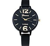 XU Women's Big Dial Fine Strap Casual Wrist Watch