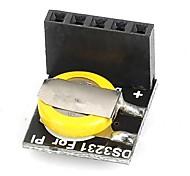Ds3231 rtc board módulo de relógio em tempo real para arduino framboesa pi