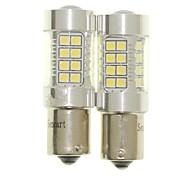 Недорогие -Sencart 2pcs 1156 ba15s лампа накаливания p21w светодиодная лампа накаливания задней части автомобиля (белый / красный / синий / теплый