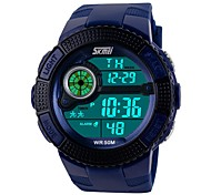 cheap -SKMEI® 1027  2017 New Skmei Brand Sports Watches Fashion LED Digital For Men Military Watch Dive Swim Outdoor Wristwatches