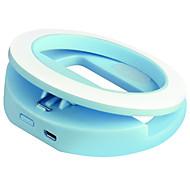 Biaze phone lens aluminium led light cell phone kit de lentilles pour samsung android smartphones iphoned