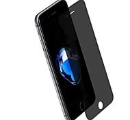 Vetro temperato Proteggi Schermo per Apple iPhone 8  Plus Proteggi-schermo frontale Durezza 9H Estremità angolare a 2,5D Anti-spia