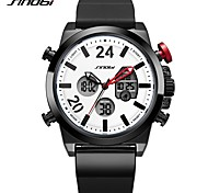 Men's Sport Watch Casual Watch Digital Watch Japanese Digital Calendar / date / day Water Resistant / Water Proof LED Dual Time Zones
