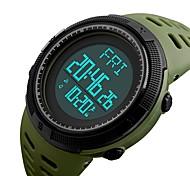 Недорогие -1295skmei спортивные наручные часы мужской наружный шагомер обратный отсчет хронограф мода водонепроницаемые часы цифровые наручные часы
