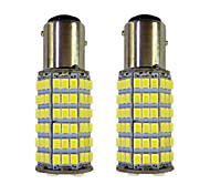 4W 1157 BAY15S PY21W 120SMD2835 Turn Signal Lamp for Car White DC12V 2Pcs