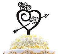 Acrylic Cake Insert Love Cake With Cake Love Decoration
