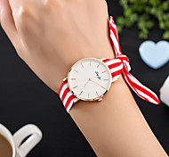 Women's Fashion Watch Wrist watch Unique Creative Watch Casual Watch Quartz Fabric Band Charm Unique Creative Luxury Elegant Cool Casual
