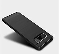 Hülle Für Samsung Galaxy Note 8 Mattiert Rückseitenabdeckung Volltonfarbe Weich TPU für Note 8