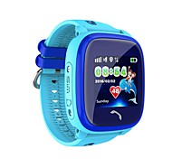 Недорогие -ips водонепроницаемые умные часы дети не gps плавать сенсорный телефон sos вызов местоположение устройство трекер дети безопасный