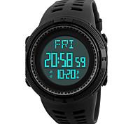 SKMEI Men's Sport Watch Digital Watch Wrist watch Japanese Digital LED Calendar Chronograph Water Resistant / Water Proof Dual Time Zones