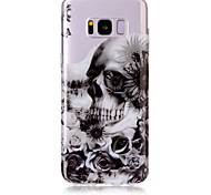 Case For Samsung Galaxy S8 Plus S8 Phone Case TPU Material Skull Pattern HD Phone Case S7 edge S7 S6 Edge S6 S5