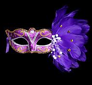 Masquerade Mask  Mask Mardi Gras Mask Halloween Costume Feather Mask for Halloween