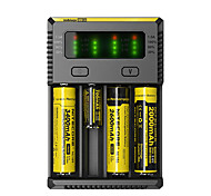 cheap -Nitecore NEW-I4 Battery Charger Flashlight Accessories Portable Professional High Quality Plastic for