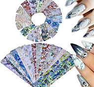 16 Nail Art Sticker  Glitter Pattern Accessories Traditional/Classic 3D Nail Stickers Parts Accessories 3-D Sticker DIY Supplies Makeup