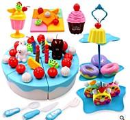 Ролевые игры Медицинские комплекты Игрушка Foods Игрушки Прочее Овощи Friut Очень свободное облегание Без запаха Сборное Детские