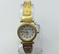 Women's Fashion Watch Bracelet Watch Casual Watch Quartz Metal Band Vintage Casual Gold