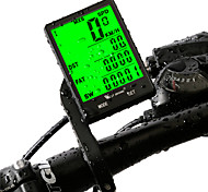 West biking Bike Computer/Bicycle Computer Waterproof Wireless Av - Average Speed Odo - Odometer Max - Maximum Speed SPD - Current Speed