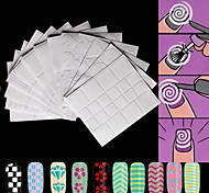 Nail Art Sticker  Pattern Makeup Cosmetic Nail Art Design
