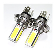 25W COB LED 360 Degrees H4  Headlight Lamp Bulb White Light