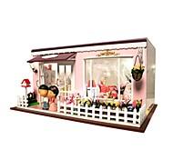 Kit de Bricolaje Caja de música Juguetes Casa Resina Romántico Piezas Unisex Cumpleaños día de San Valentín Regalo