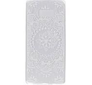 Case for Samsung Note 8 Cover Glow in the Dark Back Cover Case Mandala Lace Printing Soft TPU