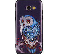 cheap -Case For Samsung Galaxy A5(2017) A3(2017) Pattern Back Cover Owl Soft TPU for A3(2017) A5(2017) A5(2016) A3(2016)