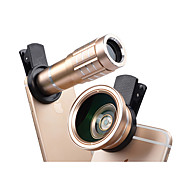 Spiderholster APEXEL-12X-0.45 Mobile Phone Lens 12.5X Macro Lens 12X Focal Lens 0.45X Wide-Angle Lens Aluminium Alloy Glass For Android iPhone