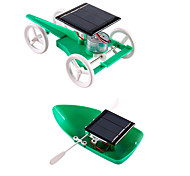 cheap -Solar Powered Toys DIY KIT Educational Toy Science & Discovery Toys Toys Square Solar-Powered DIY Unisex Teen Pieces