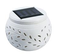 PSM01 Colorful Hollow Ceramic Solar Lights