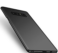 Недорогие -Кейс для Назначение SSamsung Galaxy Note 8 Ультратонкий Задняя крышка Сплошной цвет Твердый PC для Note 8