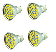 4 PCS 5W LED Spotlight 55 leds SMD 5730 Decorative Warm White Cold White 800lm 3000-7000K AC 12V
